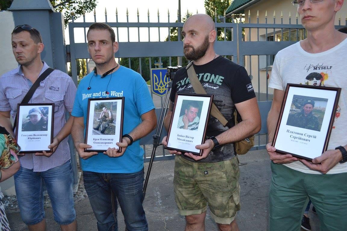 У Миколаєві вшанували пам'ять загиблих під Зеленопіллям  - фото 8