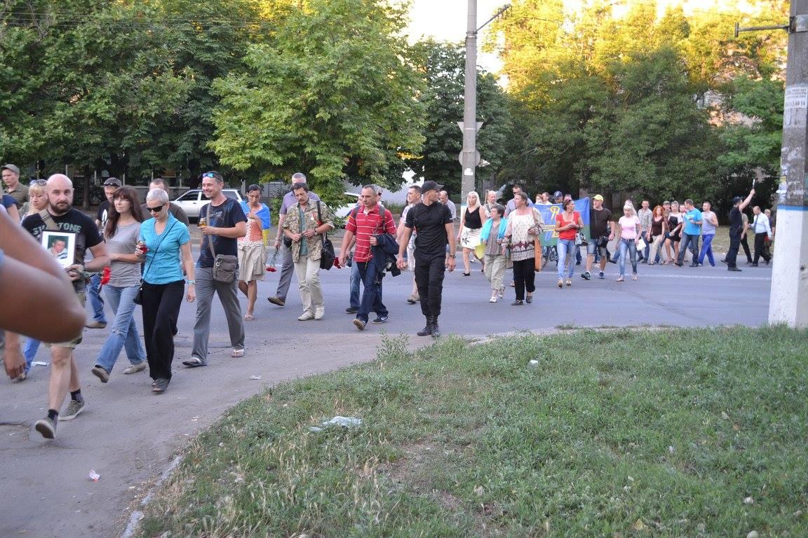 У Миколаєві вшанували пам'ять загиблих під Зеленопіллям  - фото 7