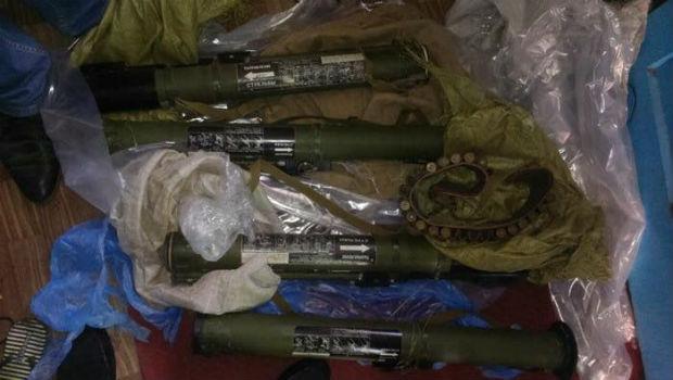 На Харківщині виявили зброю та боєприпаси з району АТО - фото 2