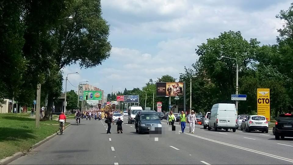 На Окружній дорозі не роз'їхалися авто  - фото 1