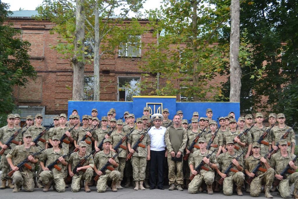 На Миколаївщині склали присягу більше 60 бійців ВМС