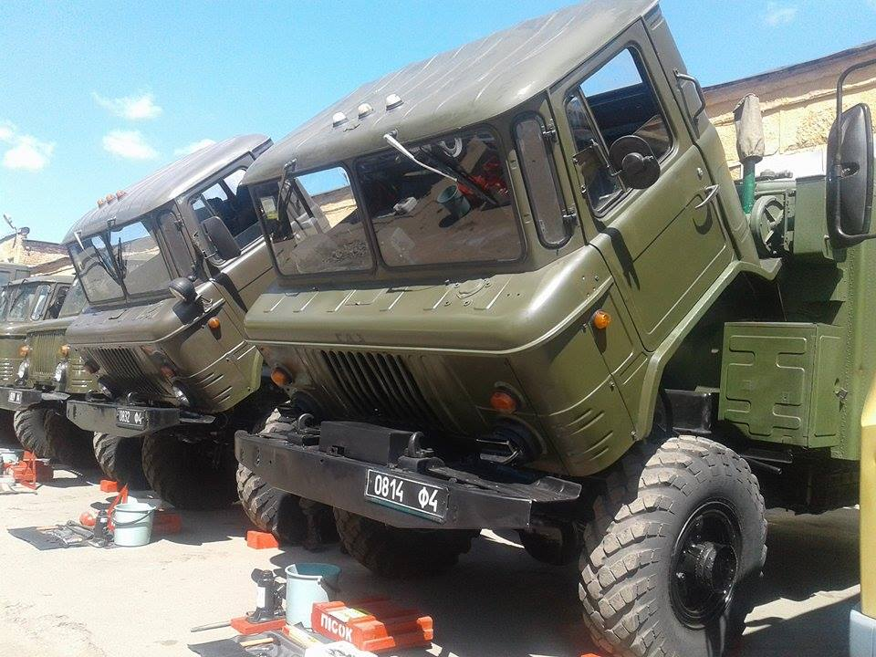 Вінницькі військові провели тест-драйв бойових машин - фото 1