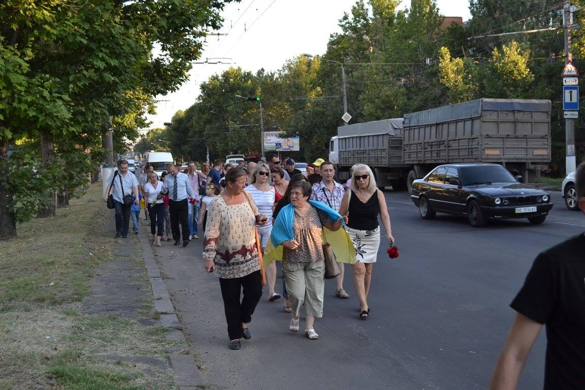 У Миколаєві вшанували пам'ять загиблих під Зеленопіллям  - фото 3