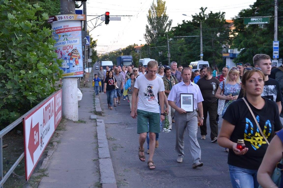 У Миколаєві вшанували пам'ять загиблих під Зеленопіллям  - фото 2