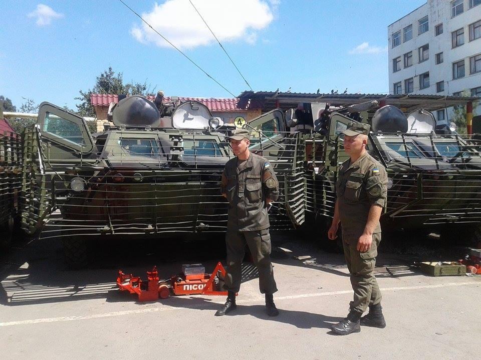 Вінницькі військові провели тест-драйв бойових машин - фото 6