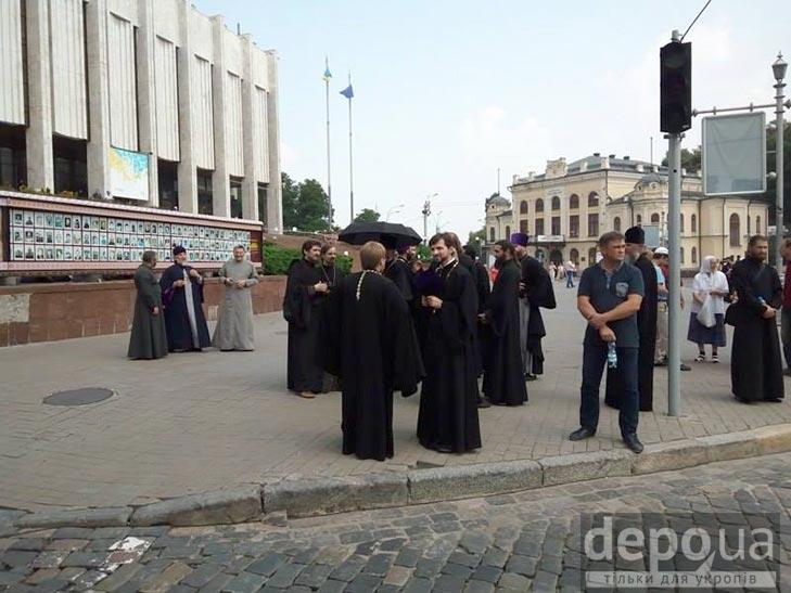 Гундяєвські ходоки в центрі Києва (ФОТОРЕПОРТАЖ) - фото 11