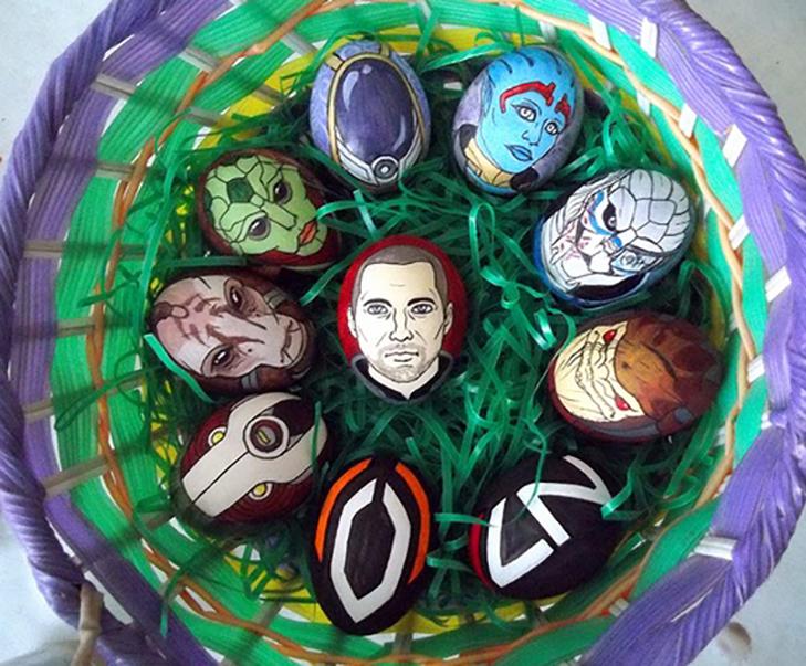 35 креативних ідей для Великодніх яєць - фото 19