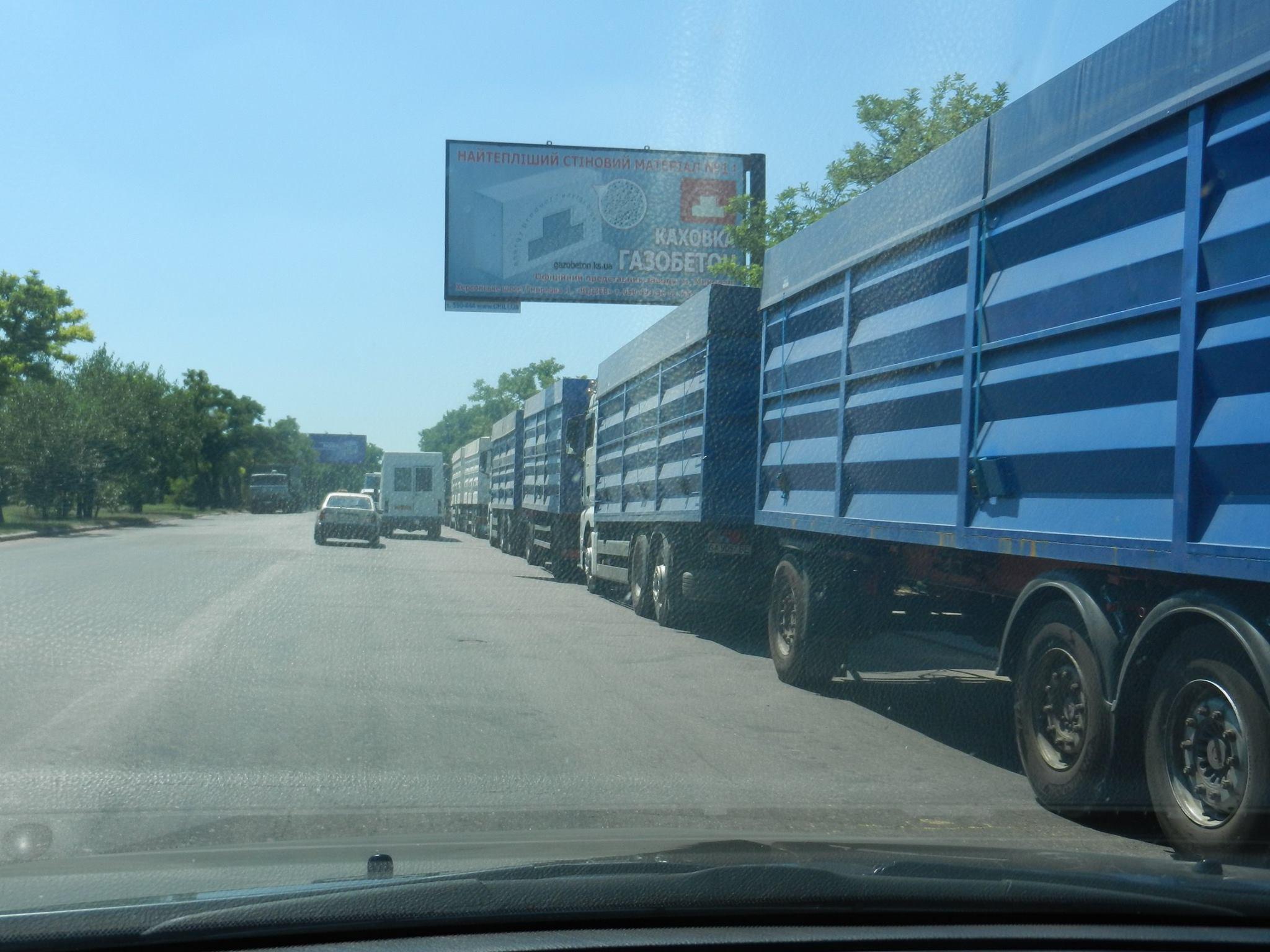 В'їзди фур до Миколаєва контролює патрульна поліція
