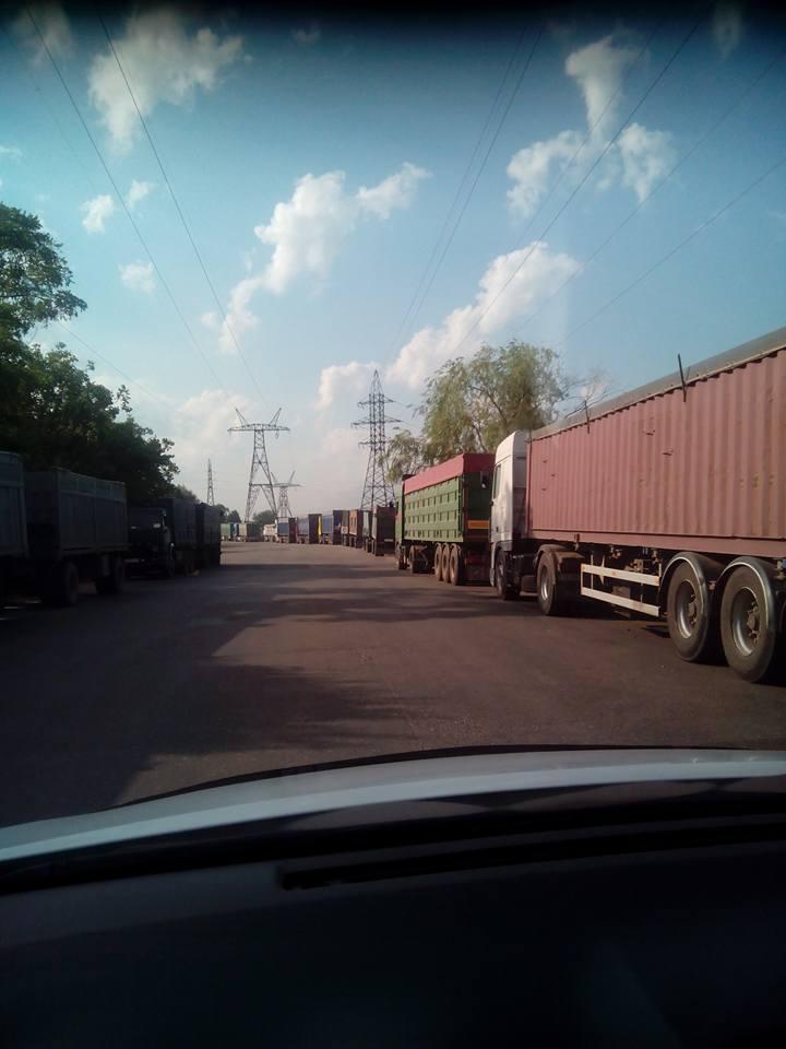 У Миколаїв, попри заборону руху фур, продовжують їхати зерновози - фото 5