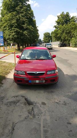 На Салтівці копи оштрафували контрабандне авто - фото 1