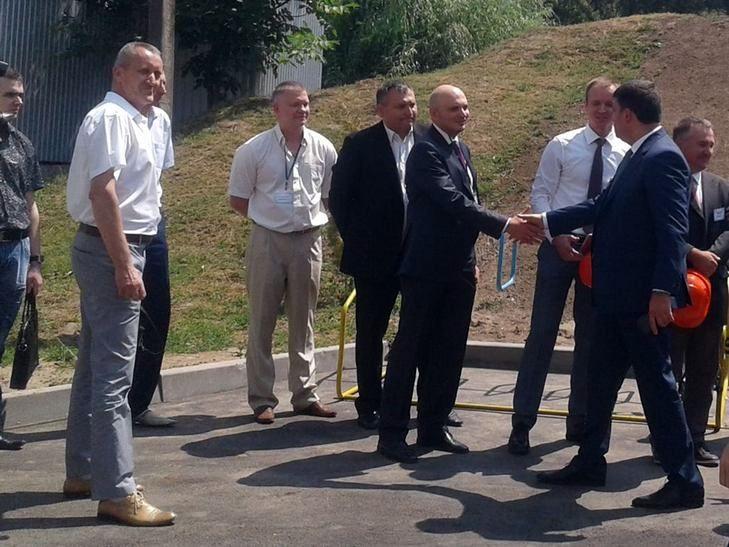 Гройсман у Вінниці запустив найпотужнішу твердопаливну котельню в країні - фото 1