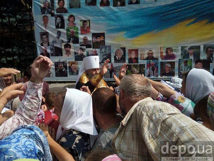 Гундяєвські ходоки в центрі Києва (ФОТОРЕПОРТАЖ) - фото 9