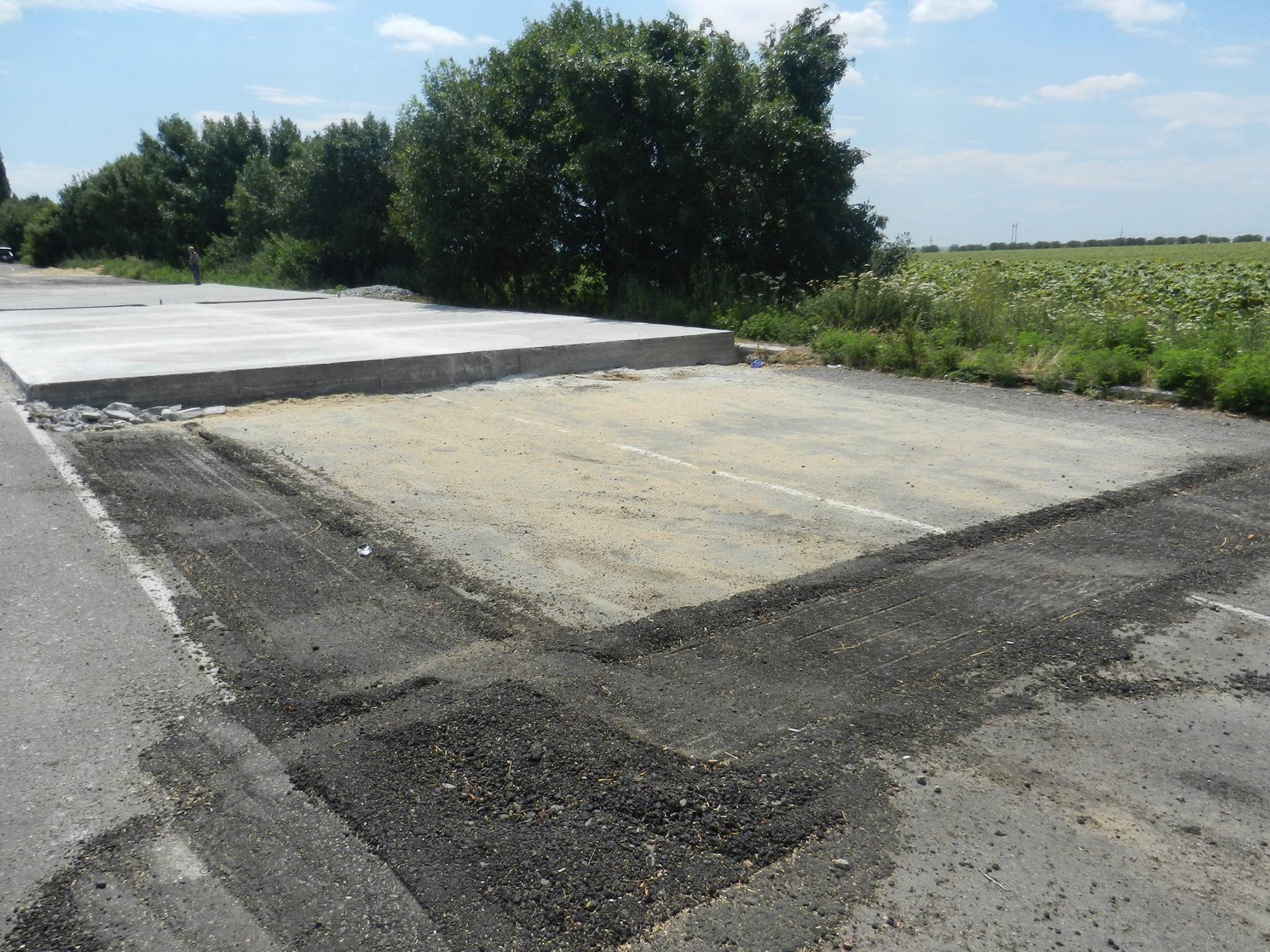 На Миколаївщині вже півмісяці ніяк не побудують майданчик під ваговий комплекс