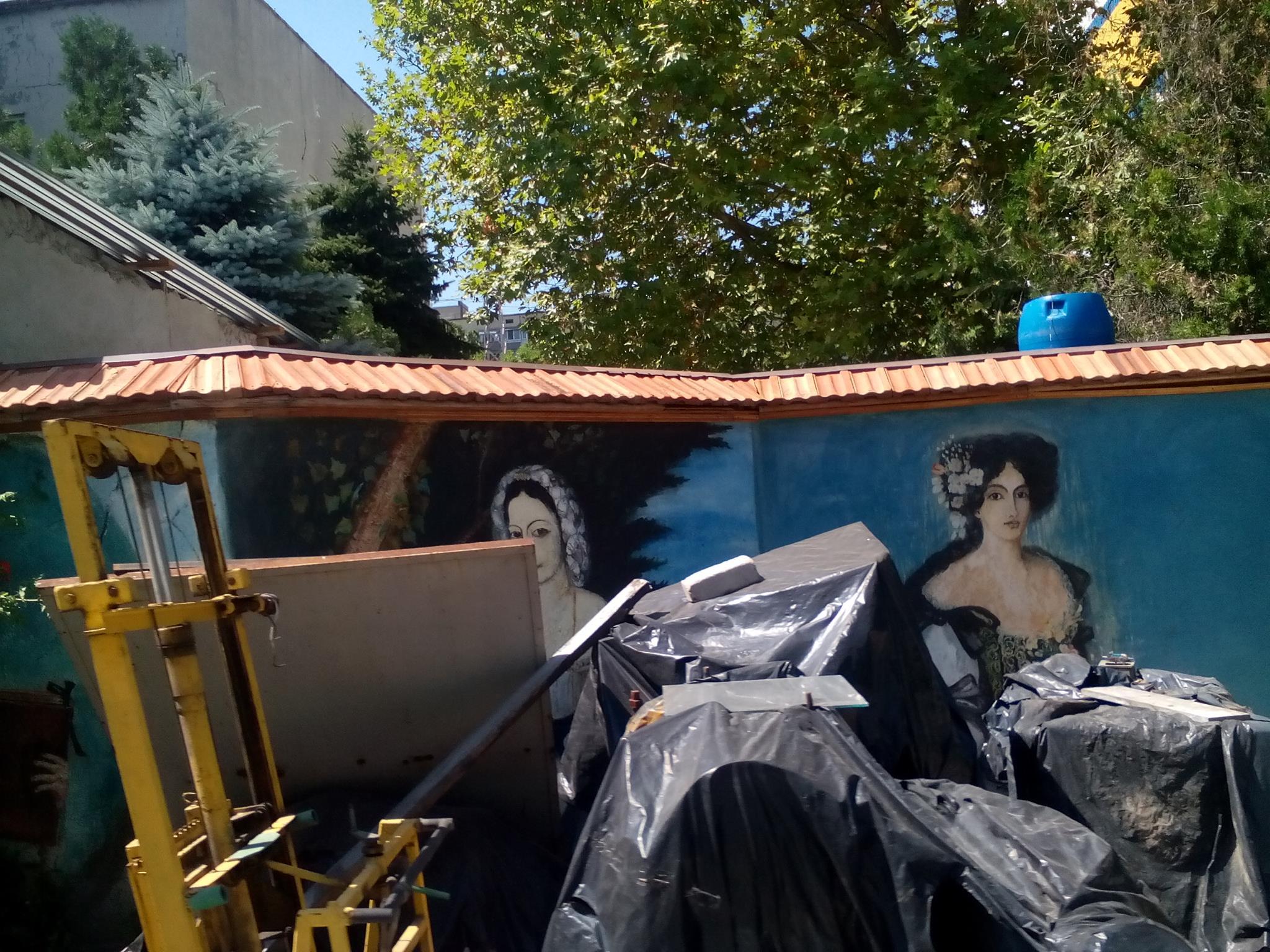 Мона Ліза та єгипетські мотиви на гаражах: особливості миколаївського стріт-арту - фото 2