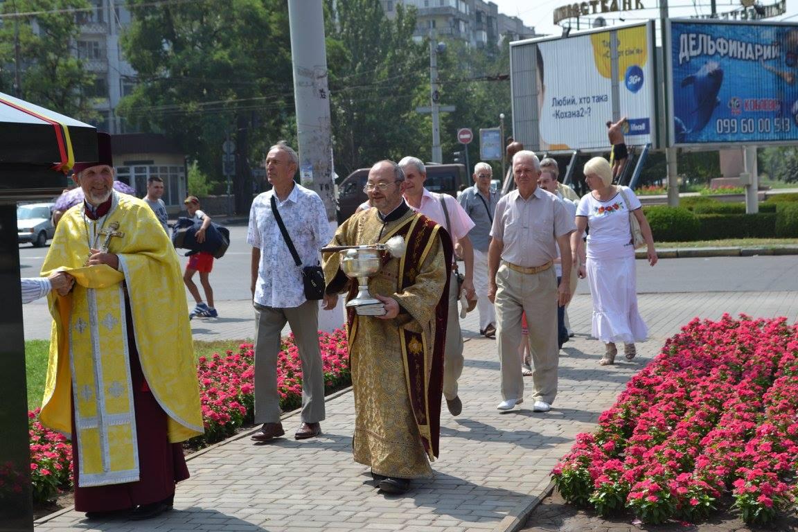 У Миколаєві священники Київського патріархату помолились за Хрещення Русі - фото 1