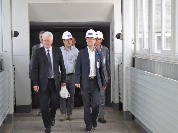 Корейці переймалися перспективами спорудження нових потужностей Хмельницької АЕС - фото 2