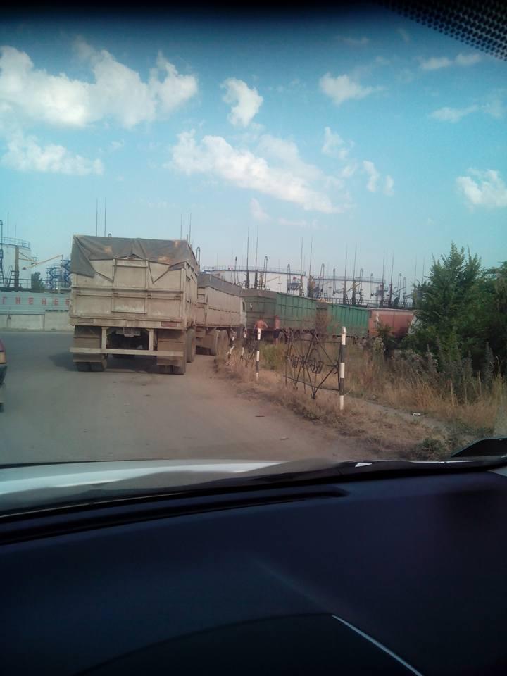 У Миколаїв, попри заборону руху фур, продовжують їхати зерновози - фото 2