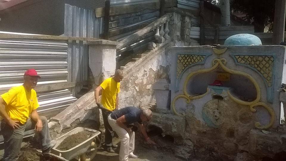 У Миколаєві почали ремонтувати знаменитий турецький фонтан - фото 2