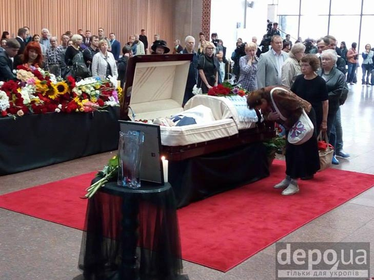 Як Україна прощалась з Павлом Шереметом (ФОТОРЕПОРТАЖ) - фото 2