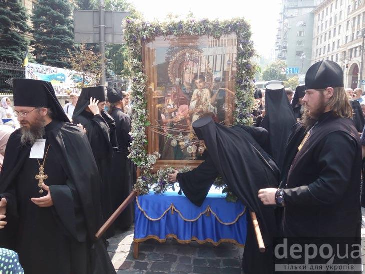 Гундяєвські ходоки в центрі Києва (ФОТОРЕПОРТАЖ) - фото 10