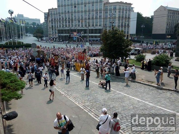 Гундяєвські ходоки в центрі Києва (ФОТОРЕПОРТАЖ) - фото 15
