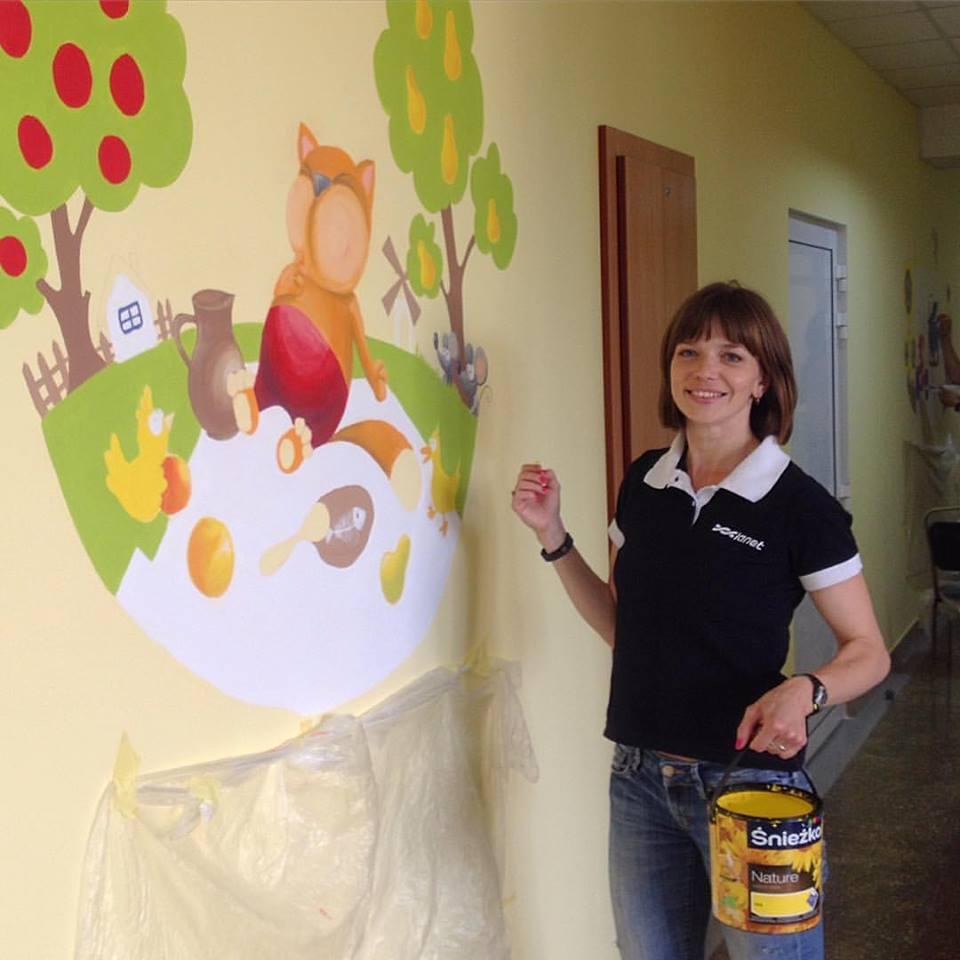 Вінницькі скетчери малюють по стінах кав'ярень та лікарень - фото 3