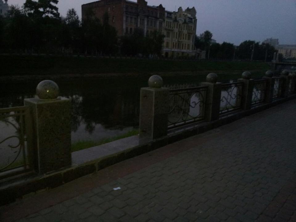 На Харківській набережній спіймали крадіїв-вандалів - фото 2