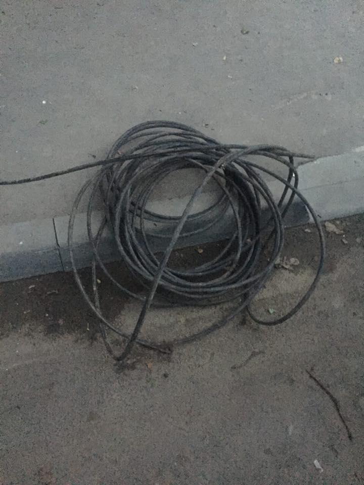 У харківському підвалі копи зловили викрадача кабелю  - фото 2