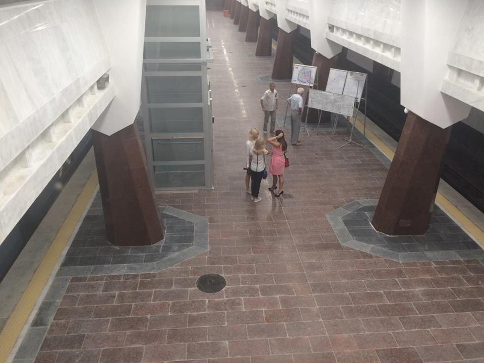 Як виглядає нова станція харківського метро за три тижні до відкриття - фото 8