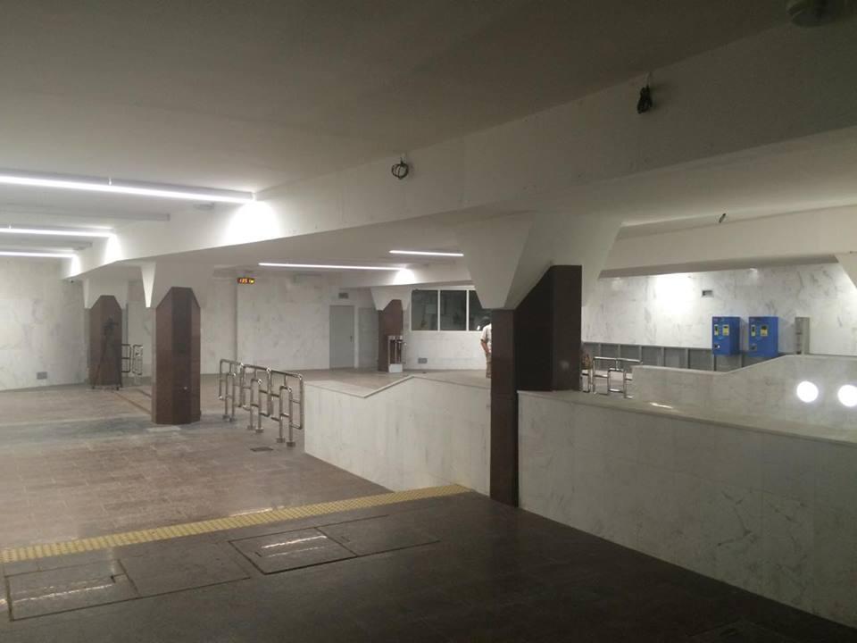 Як виглядає нова станція харківського метро за три тижні до відкриття - фото 7