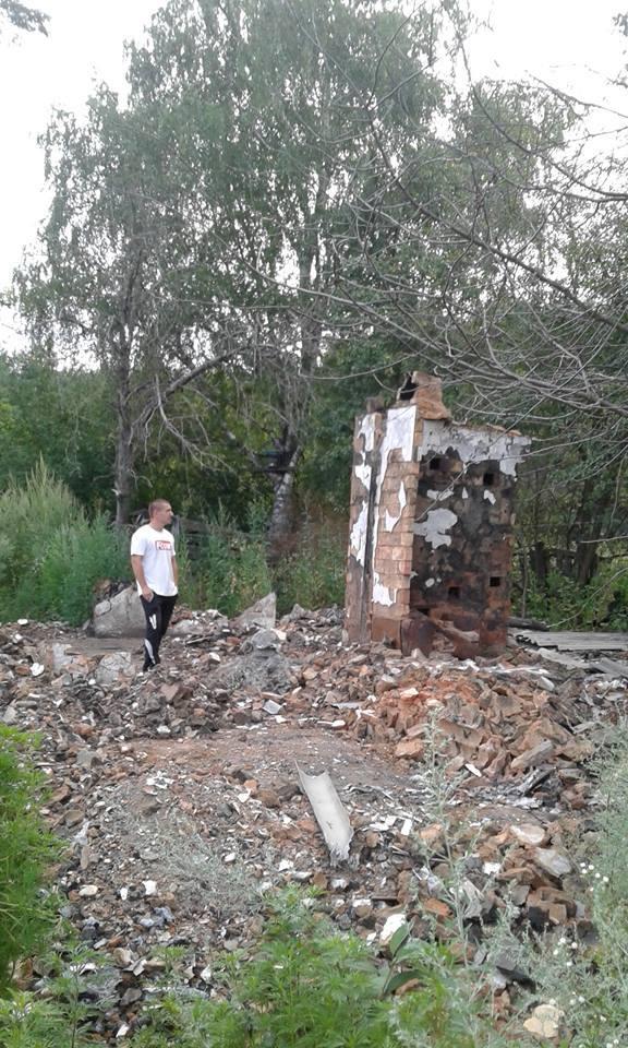 На Харківщині згорів будинок бійця АТО: потрібна допомога  - фото 4