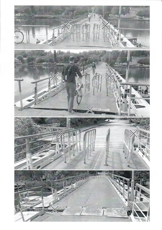 Миколаївських комунальників просять передбачити кошти для ремонту понтонного мосту