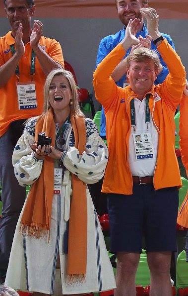 Королева Нідерландів вбралася в розкішну вишиванку на Олімпіаді  - фото 2