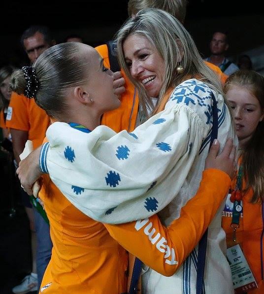 Королева Нідерландів вбралася в розкішну вишиванку на Олімпіаді  - фото 1