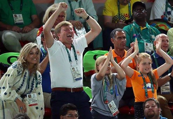 Королева Нідерландів вбралася в розкішну вишиванку на Олімпіаді  - фото 3