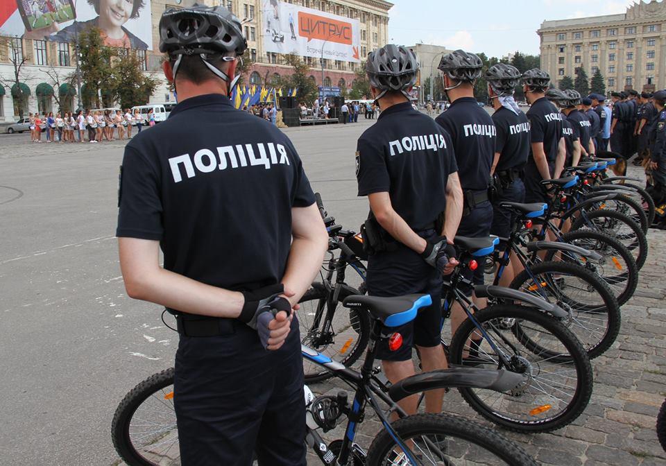 У Харкові з'явилися копи на велосипедах  - фото 1