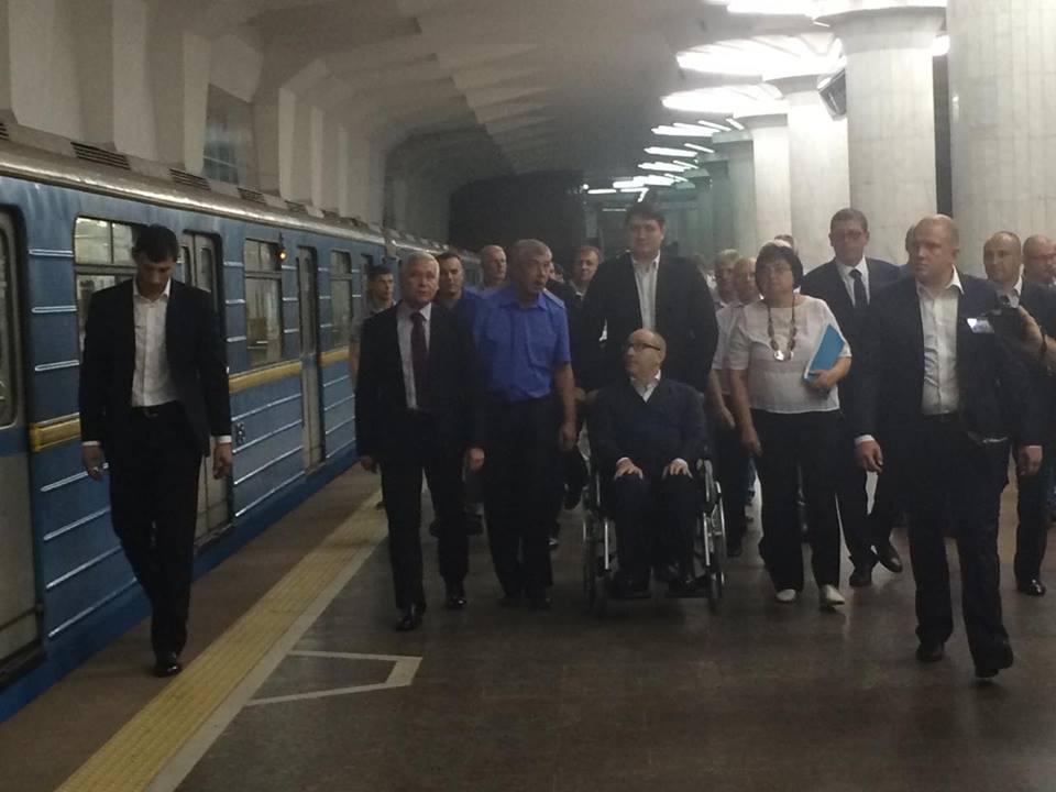 Кернес протестував нову станцію харківської підземки  - фото 1