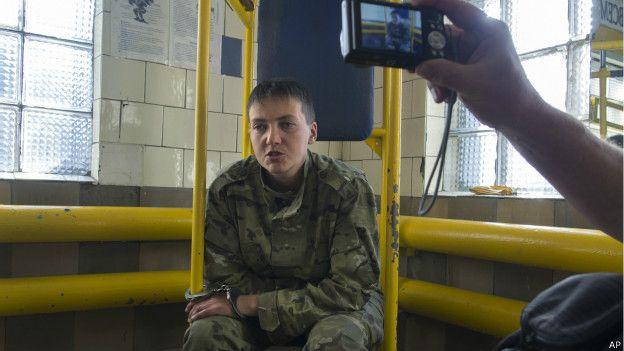Як Надя Савченко пухне від голоду - фото 6