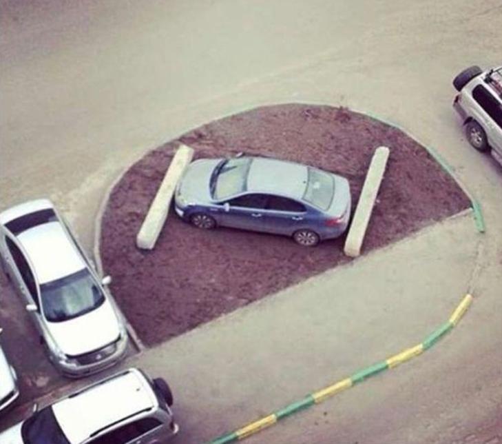 30 суворих покарань для тих, хто паркується, як мудак - фото 18