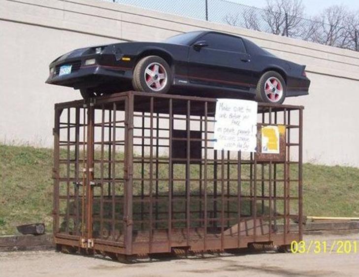30 суворих покарань для тих, хто паркується, як мудак - фото 15