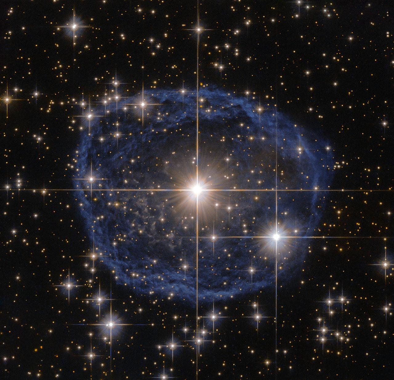 """""""Хаббл"""" показав гігантську """"мильну бульбашку"""" із сузір'я Кіля - фото 1"""