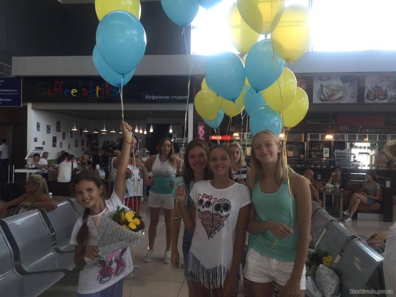 У Харкові зустріли олімпійську збірну України з синхронного плавання - фото 2