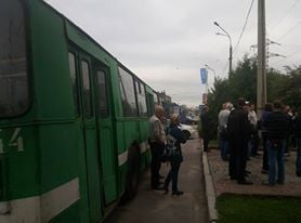 У Харкові кілька сотень комунальників Кернеса пікетують обленерго - фото 6