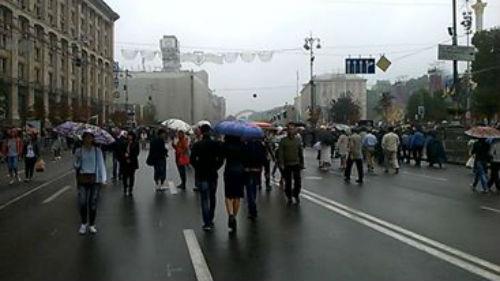 Як виглядає Хрещатик після військового параду - фото 2