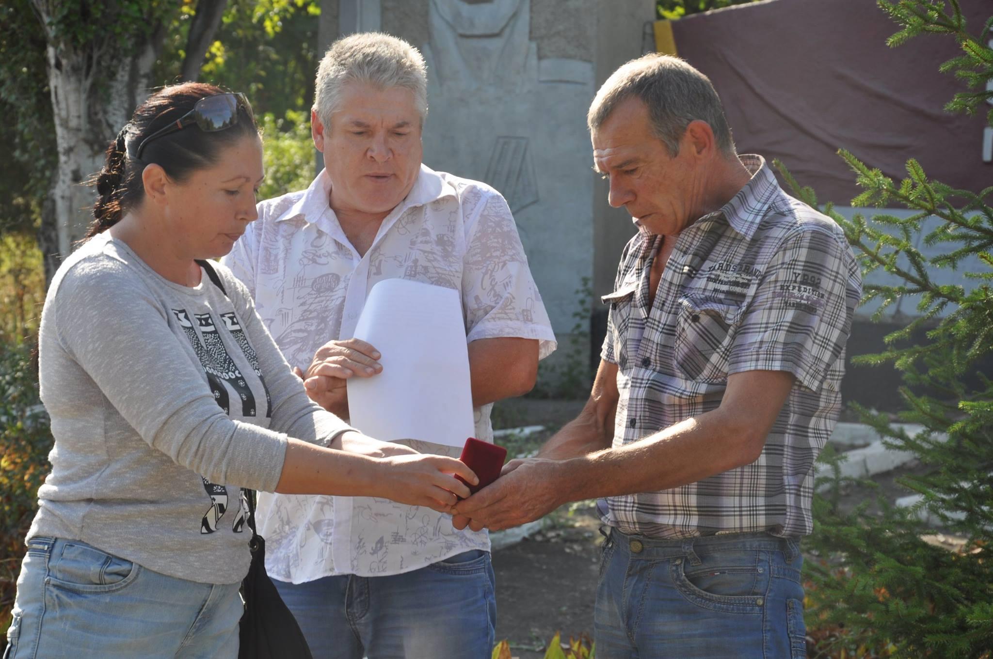 Десантника миколаївської 79-ки нагородили посмертно відзнакою