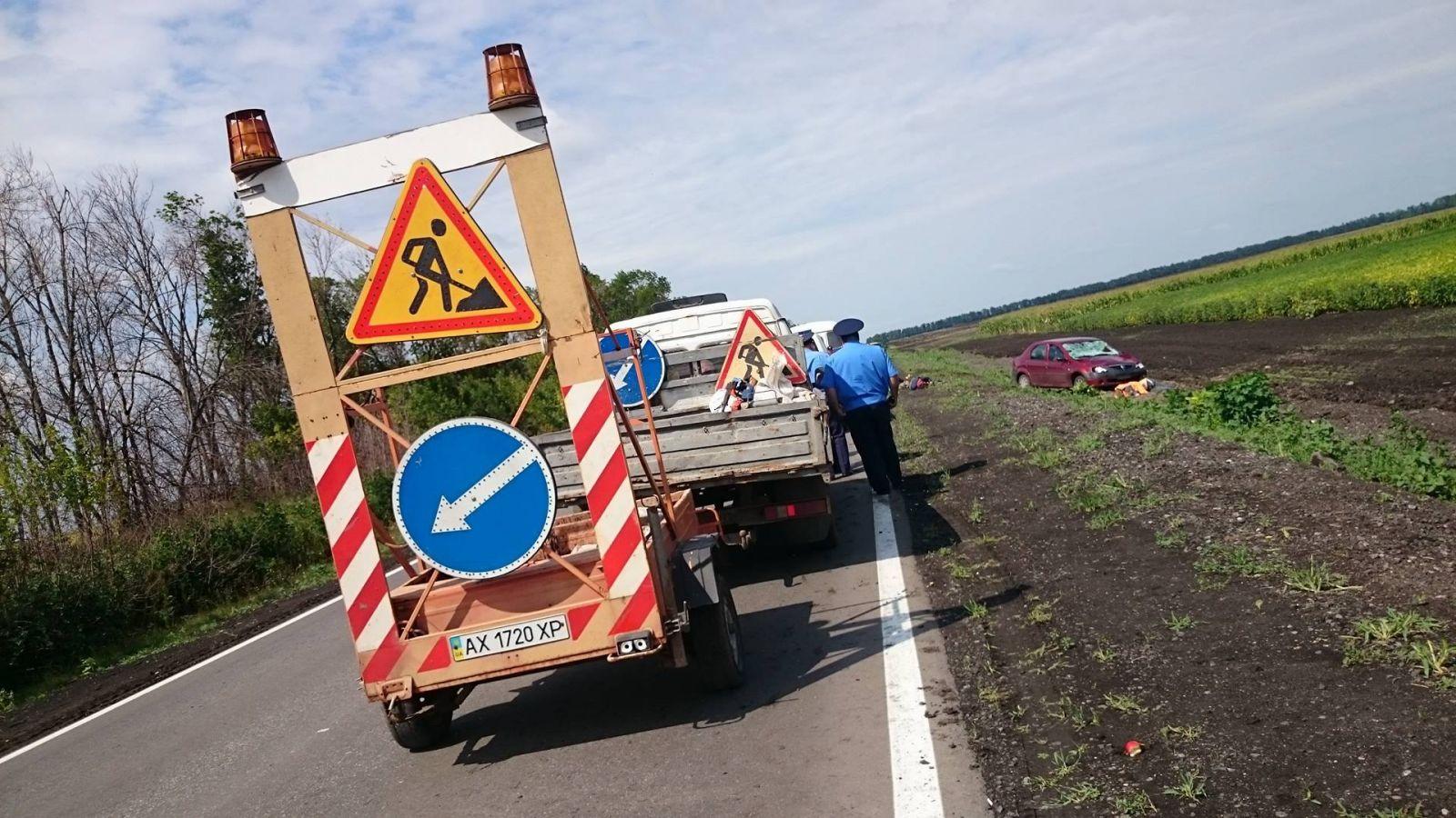 Опубліковані фото з місця кривавої аварії на Харківщині  - фото 1
