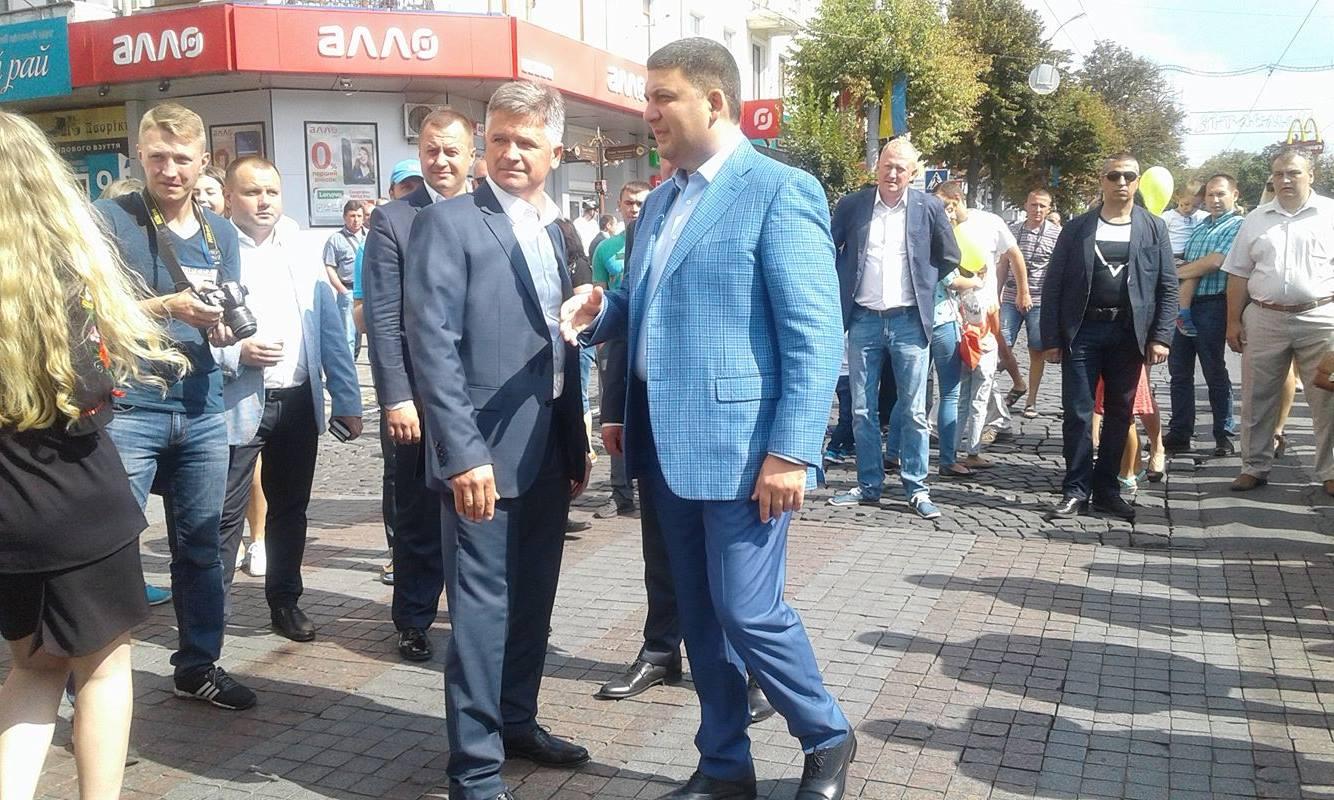 День міста у Вінниці святкують Порошенко, Гройсман, міністри та нардепи  - фото 6