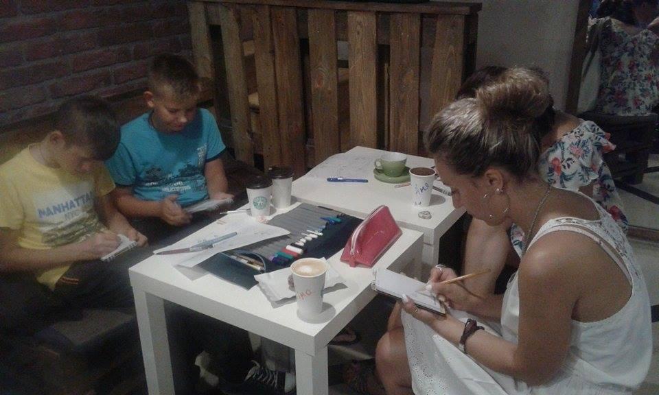 У Вінниці до дня міста скетчери влаштували марафон - фото 3