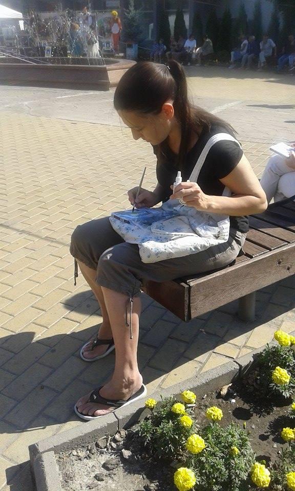 У Вінниці до дня міста скетчери влаштували марафон - фото 5