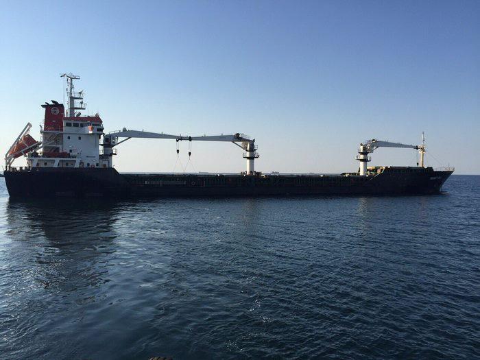СБУ визволяло турецьке судно з миколаївським вантажем, яке силою захопили моряки - фото 1